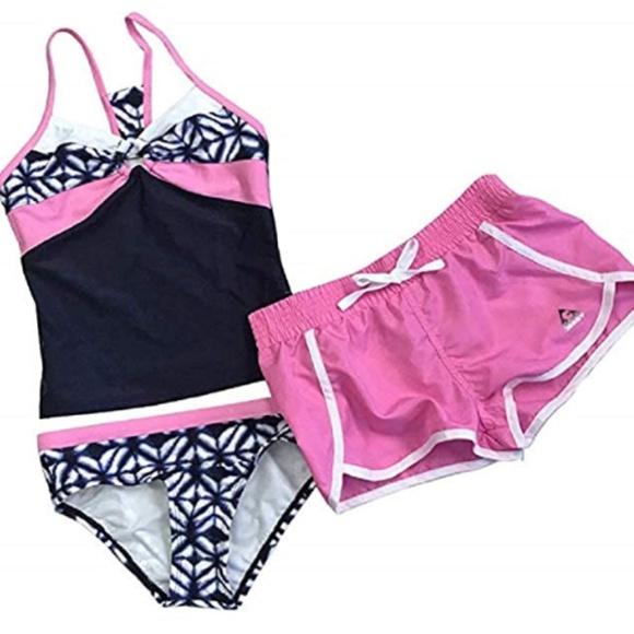 f1a60eefe6 Gerry Swim   Nwot Girls 3piece Set Strawberry   Poshmark